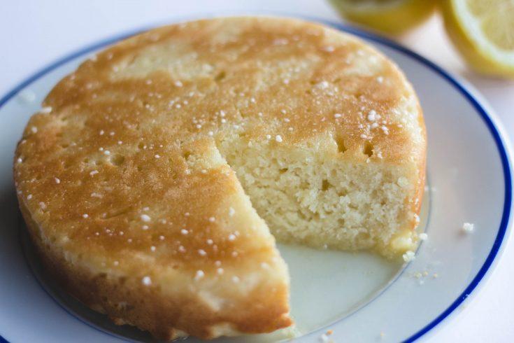 Lemon Cream Cheese Coffee Cake with Lemon Glaze