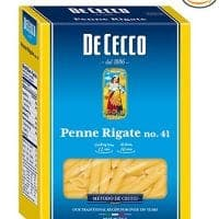 De Cecco Semolina Pasta, Penne Rigate No.41, 1 Pound (Pack of 5)