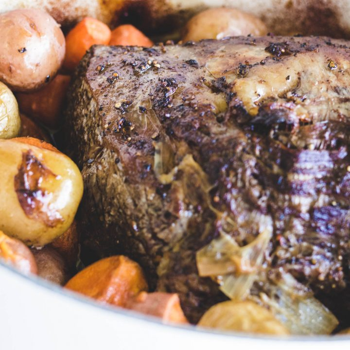 Dutch Oven Rib Roast and Vegetables