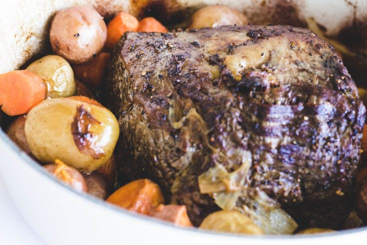 Dutch Oven Rib Roast Sunday Dinner