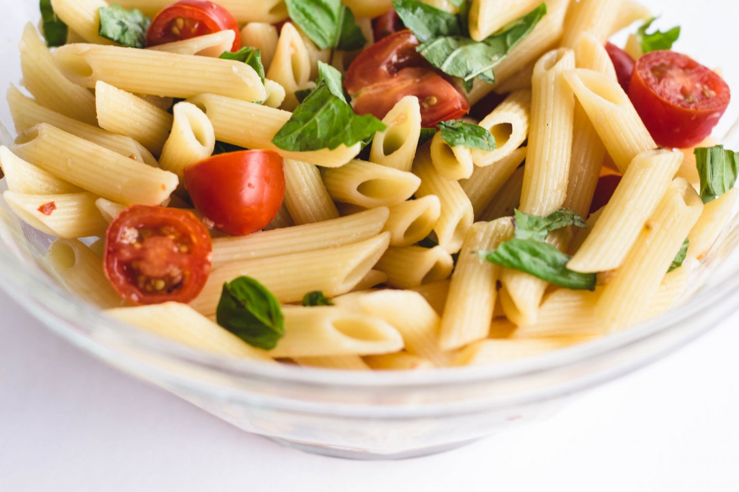 Tomato and Basil Pasta Salad Made for Summer