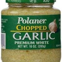 Polaner Premium White Chopped Garlic, 10 Ounce