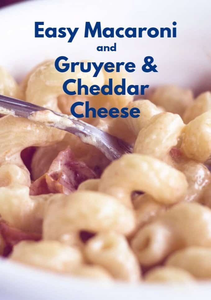 Stovetop Gruyere Mac & Cheese For Two