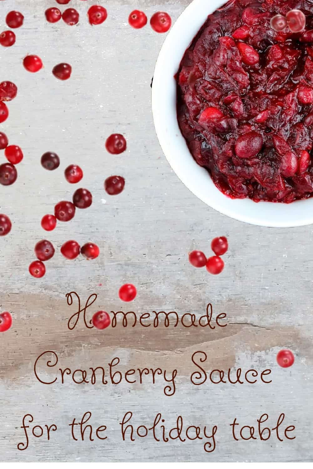 Easy Cranberry Side Dish for the Holiday Table