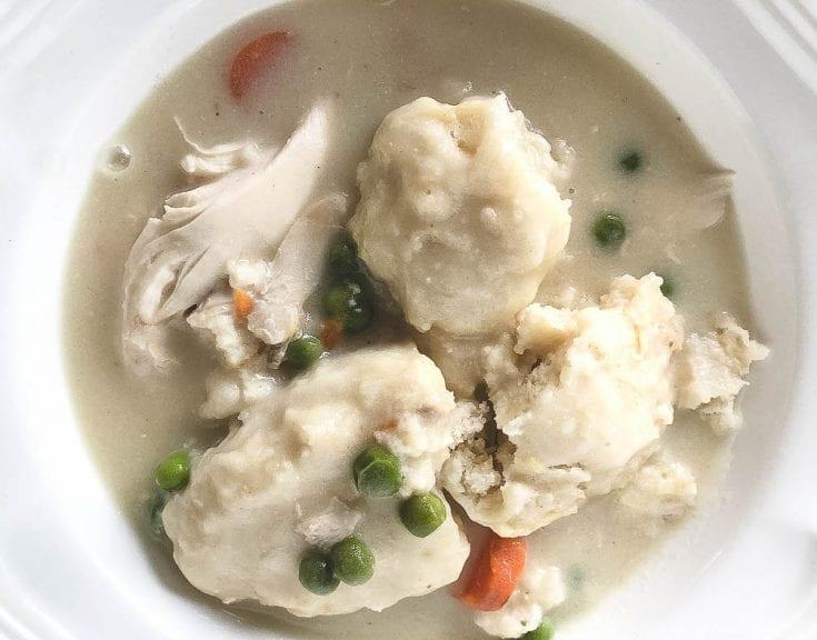 Chicken and Bisquick Apple Dumplings Stew