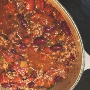 classic chili recipe for two