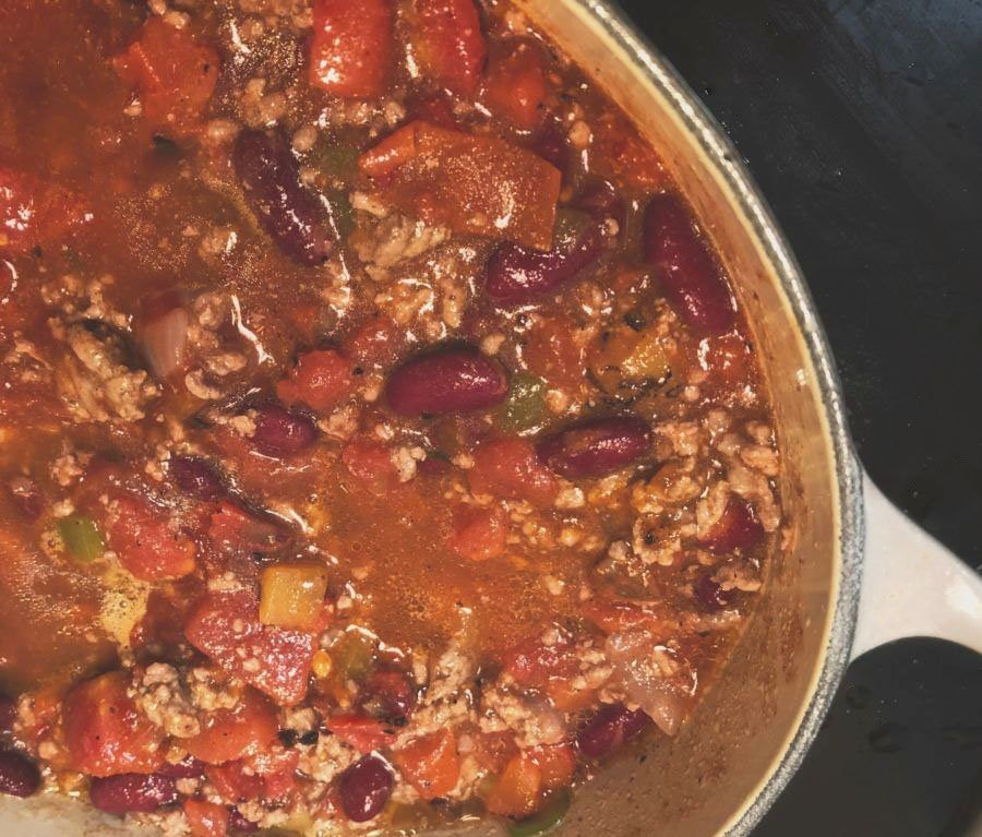 classic chili recipe for two
