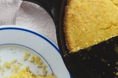 Homemade Skillet Cornbread Recip