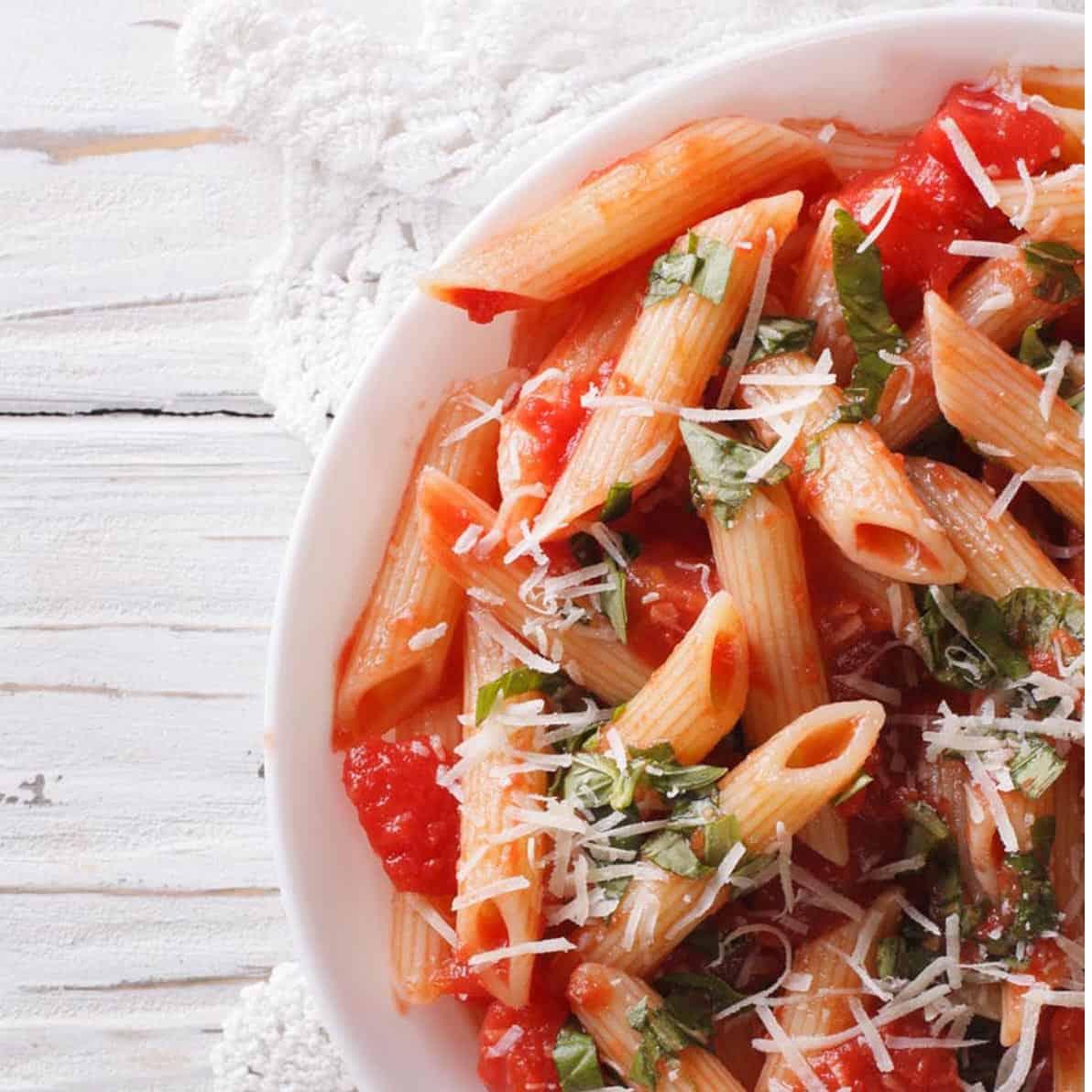 Recipe for Penne Arrabbiata