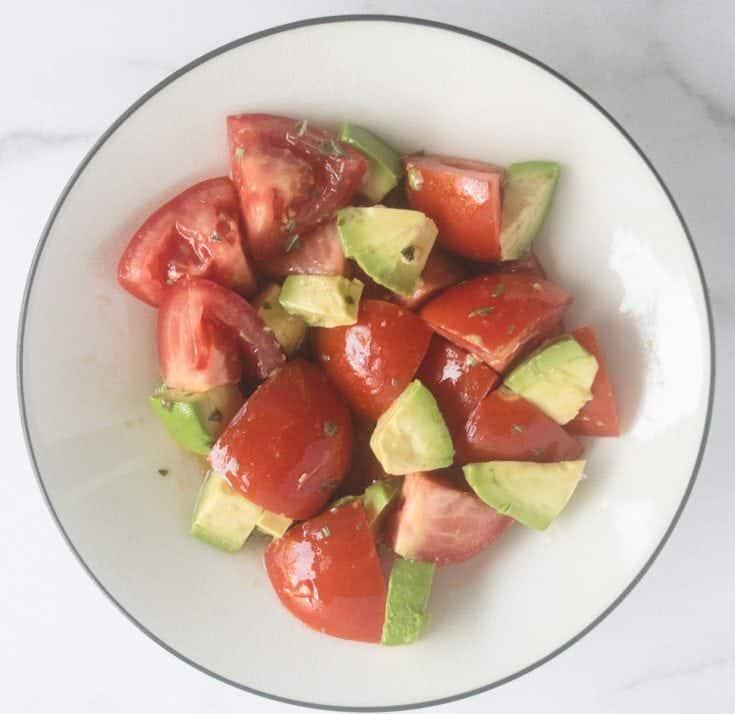 Summer Tomato & Avocado Salad
